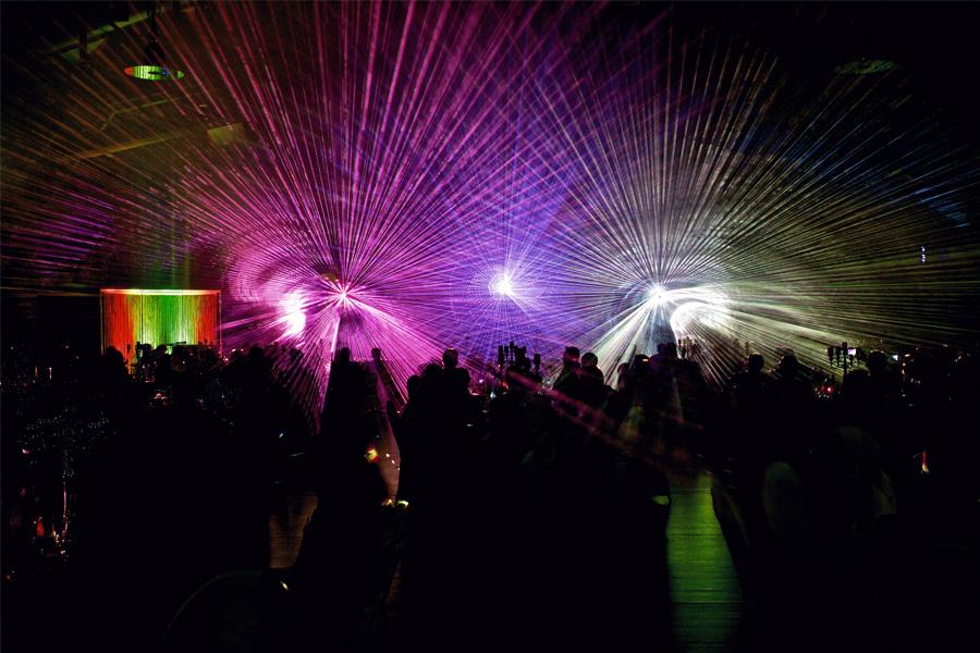 Lasershow Hochzeit - der Grafikteil